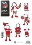 San Francisco 49ers Family Decal - Small