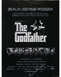 Al Pacino Autographed 11x17 The Godfather Mini Movie Poster
