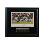 Alan Shearer Autographed Team England Record-Breaker Autographed 12x16 Framed