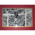 Alex Stepney Matted Autographed 8x10 At the Goal