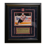 Alexander Ovechkin Autographed 8x10 Custom Framed and Matted