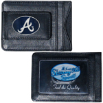 Atlanta Braves Leather Cash & Cardholder