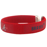 Atlanta Braves Fan Band Bracelet