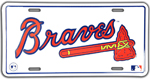 Atlanta Braves License Plate