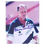 "Barry Switzer Loose Autographed 8""x10"""