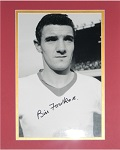 Billy Foulkes Matted Autographed 8x10