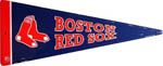 Boston Red Sox Pennant Sign