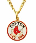 Boston Red Sox Collectible Pendant with Chain