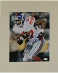 "Brandon Jacobs Autographed 8""x10"" Matted"