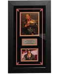 "Bret ""The Hitman"" Hart Autographed 8x10 Framed"