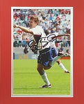 Brian McBride Matted Autographed 8x10