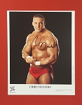 Chris Masters Autographed 8x10 Matted