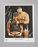 Cryme Tyme Autographed 8x10 Matted WWE