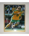 Darren Huckerby Matted Autographed 8x10