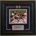 David Ortiz World Series Autographed 8x10 Framed