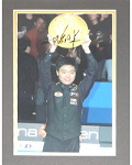 "Ding Junhui Matted Autographed 8""x10"""