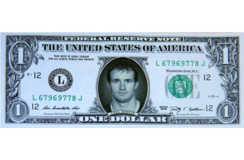 "Drew Brees ""Cool Breese"" Famous Face Dollar Dollar Bill"