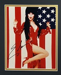 "Elvira Autographed 8x10"" Matted"