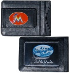 Miami Marlins Leather Cash & Cardholder