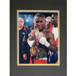 "Floyd Mayweather Jr. Matted Autographed 8""x10"""