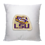 LSU Tigers Letterman Pillow