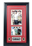Jonas Brothers Autographed Rolling Stones Magazine Framed