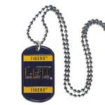 LSU Tigers Dog Tags