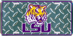 LSU Tigers License Plate