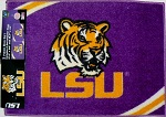 LSU Tigers 2 Piece Rug Set