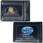 LSU Tigers Leather Cash & Cardholder