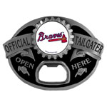 Atlanta Braves Tailgater Belt Buckle