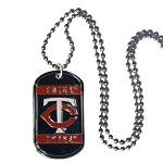 Minnesota Twins Necklace Dog Tags