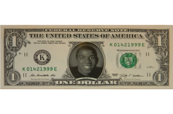 Magic Johnson Famous Face Dollar Bill