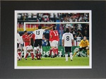 Michael Ballack Autographed 8x10 Matted