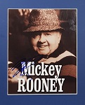 "Mickey Rooney Autographed 8""x10"""