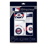 Minnesota Twins 3 Piece Baby Gift Set