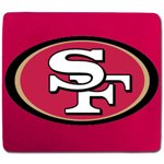 San Francisco 49ers Neoprene Mouse Pad