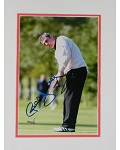 Paul McGinley Autographed 8x10