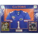 Percy Harvin Autographed Gators Jersey Matted