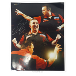 Phil Taylor Autographed 16x20 League of Darts Assorted photos