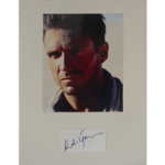 Ralph Fiennes Autographed Cut with 8x10