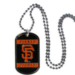 San Francisco Giants Necklace Dog Tags