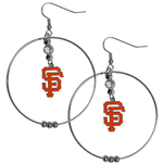 "San Francisco Giants 2"" Hoop Earrings"