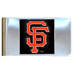 San Francisco Giants Stainless Steel Money Clip