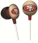 San Francisco 49ers iHip Earbuds