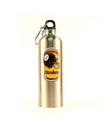 Pittsburgh Steelers Stainless Steel Water Bottle - 25oz.