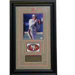Steve Young Autographed 8x10 Framed