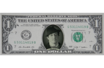 Rocky Famous Face Dollar Bill - Sylvester Stallone