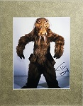 Tim Dry Autographed 8x10 Whipid in Star Wars