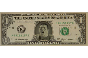 Tim Tebow Famous Face Dollar Bill - Power T (NCAA)